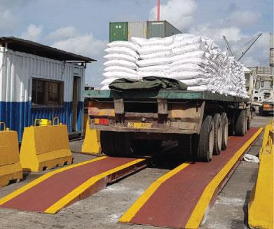 Industrial Weighing Equipment- Mobile Weighbridge