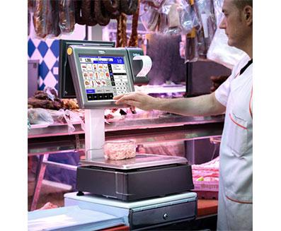 Retail weighing equipment