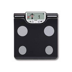 Scale with body fat analyser