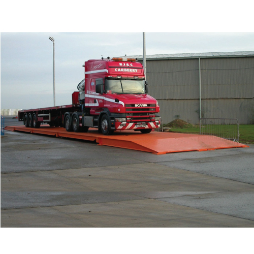 Fullsize portable weighbridge
